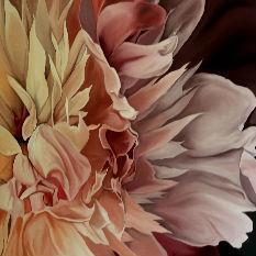 Pink Floral Oil Paintings