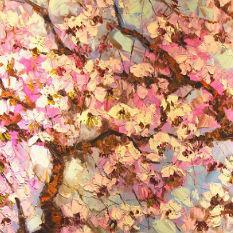 Floral Art Painting100cm x 200cm