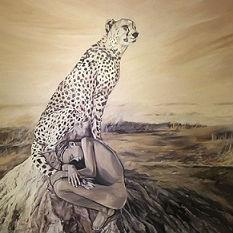 122cm x153cm oil painting